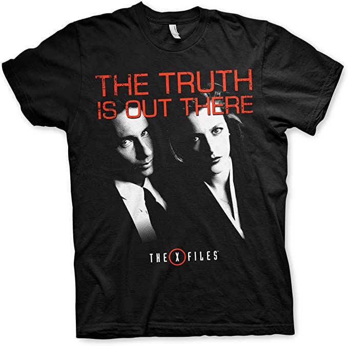 Officially Licensed The X-Files Truth Is Out There Men/'s T-Shirt S-XXL Sizes