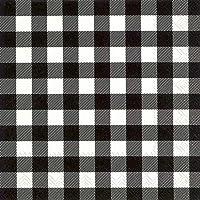 Boston International IHR 20 unidades Luncheon 3 capas servilletas de papel, 16,5 x 16,5 cm, color negro