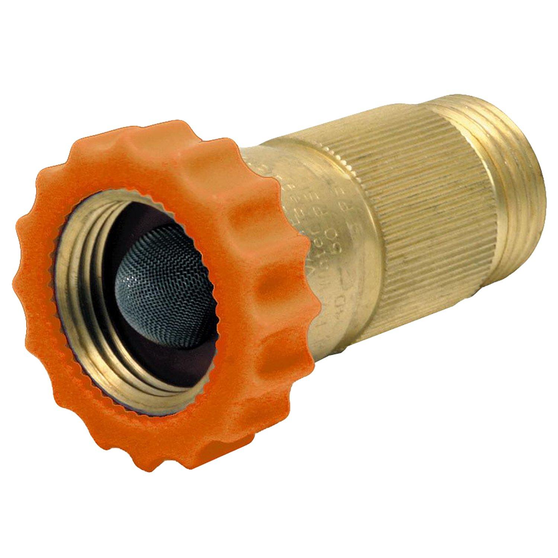 LASCO RV520 Brass Water Pressure Regulator, 3/4-Inch Female Hose Thread X 3/4-Inch Male Hose Thread by LASCO