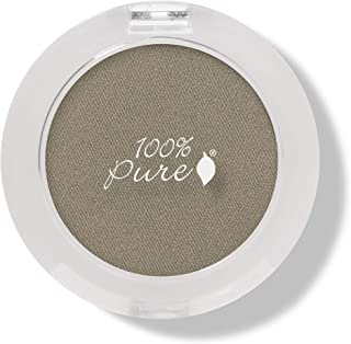 product image for 100% PURE Pressed Powder Eye Shadow (Fruit Pigmented), Gold Espresso, Shimmer Eyeshadow, Buildable Pigment, Easy to Apply, Natural Makeup (Sheer Light Golden-Brown) - 0.07 oz