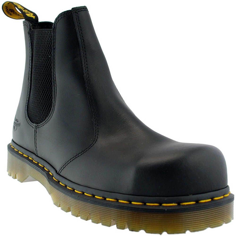 Dr. Martens Icon - SB E Rating - Calzado de protección para hombre, color Negro (Black 2028), talla 46 EU