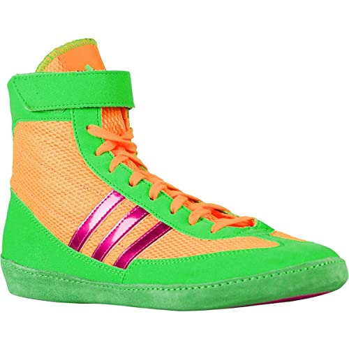 online store d3a4d 5c736 ... sale adidas combat speed 4 wrestling shoes 9 solar gold solar lime  metallic 0ea0e ca379