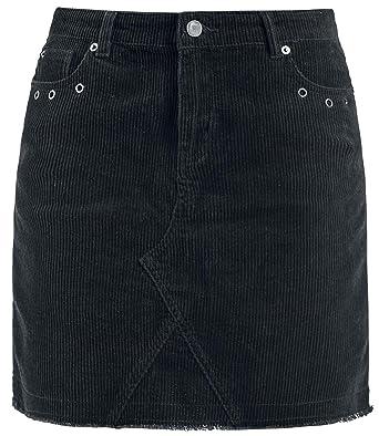 Fashion Victim Cordrock Kurzer Rock schwarz  Amazon.de  Bekleidung 8dd8ad6290