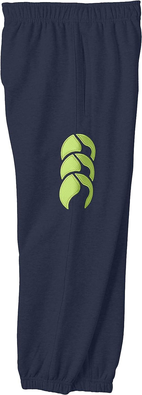 Canterbury Of New Zealand Unisexs Core Cuffed Sweat Pants-Blue Size 6