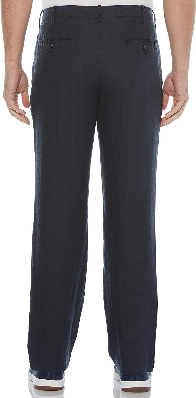 Perry Ellis Mens Drawstring Linen Pant Perry Ellis Men/'s Sportswear 4AHB3305