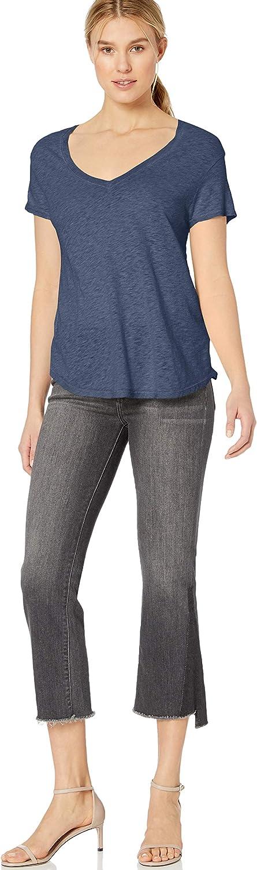 Three Dots Womens Vj1564 Eco Knit Easy Fit S//S Tee