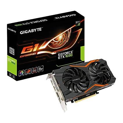 Gigabyte geforce GTX 1050 g1 Gaming 2g gv-n1050g1 gaming-2gd - Tarjeta Grafica