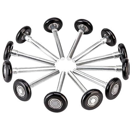 Amazon Xike 12 Pack 2 In Nylon Garage Door Roller Use 6200zz