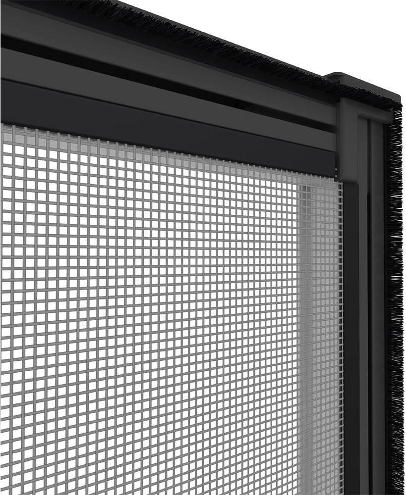 Gr/ö/ße:100 x 120 cm Easy Life Pollenschutzgitter ALLERGICpro mit proLINE Alu Rahmen Fenster Insektenschutz Spannrahmen Pollenstop und Fliegengitter Farbe:Anthrazit