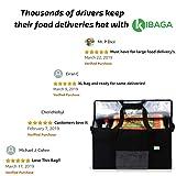 KIBAGA Premium Insulated Food Delivery Bag XXL