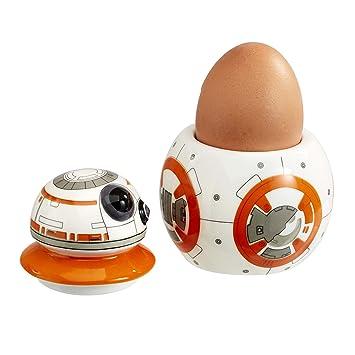 Star Wars Figur BB8 Episode VII Eierbecher, weiß: Amazon.de: Küche ...