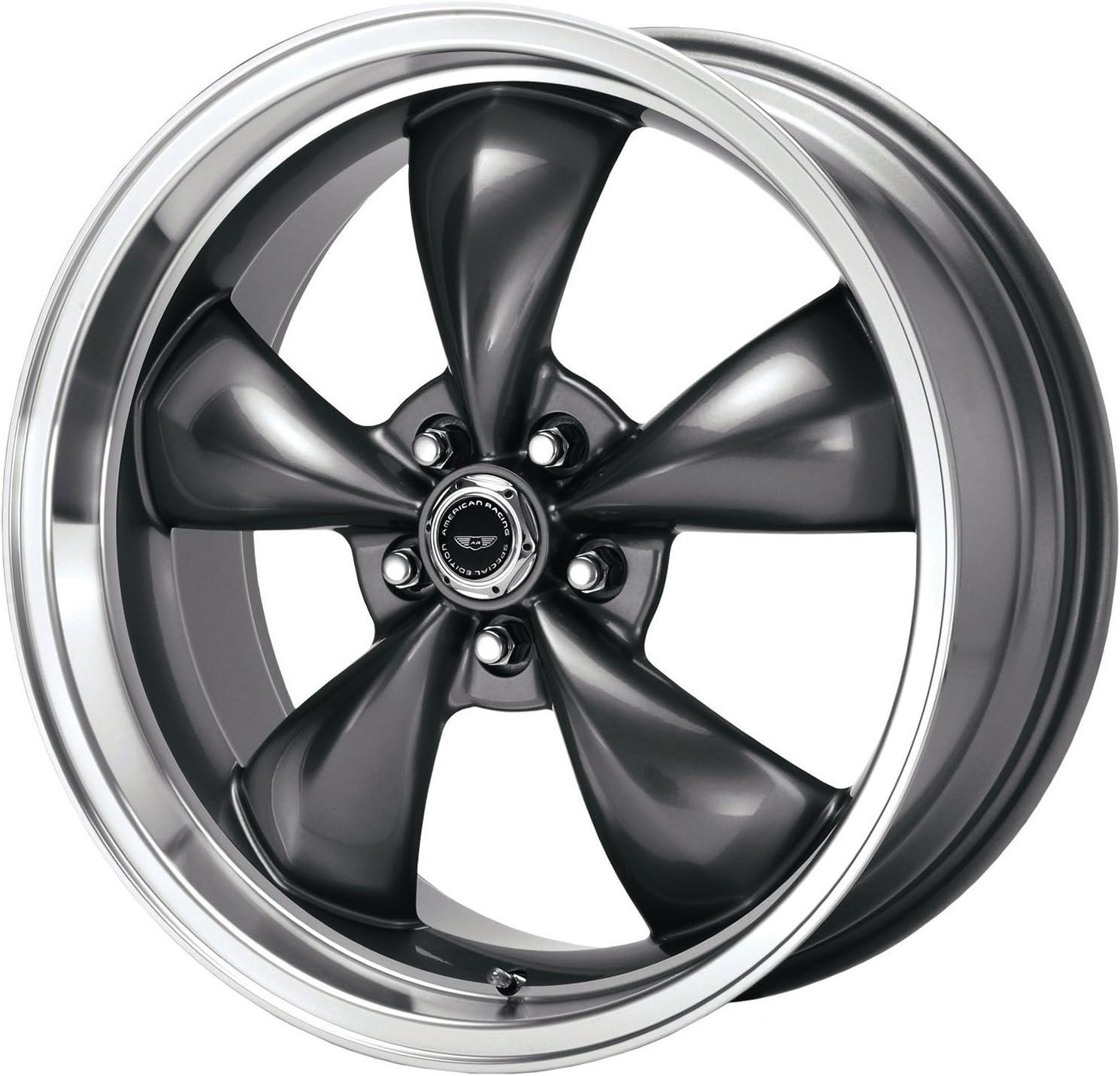 "8mm Gunmetal Wheel Rim 17 Inch American Racing VN215 Torq Thrust 2 17x8 5x4.75/"""