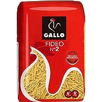 Pasta seca Gallo fideo 500gr., 1 unidad