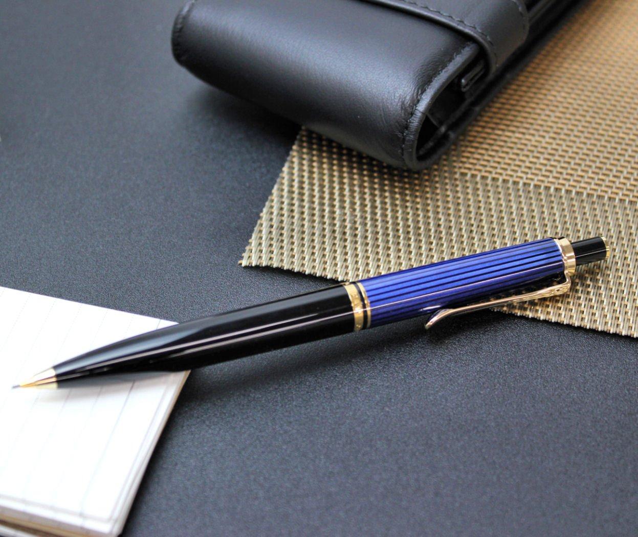 PELIKAN Souveran 400 Gt 7mm Pencil, Black/Blue (997171) by Pelikan (Image #4)