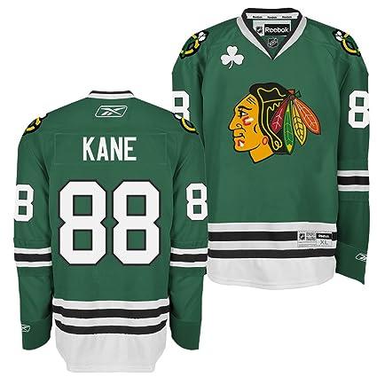 Amazon.com   Reebok Chicago Blackhawks Patrick Kane Premier Jersey ... b6470abd9