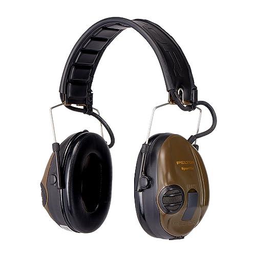 3M Pentor SportTac, Orejeras de protección, protector auditivo, 26 dB, plegable,