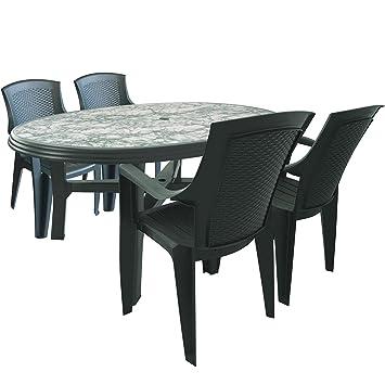 Table Jardin Plastique Vert. Gallery Of Conglateur Armoire Beko Fns ...