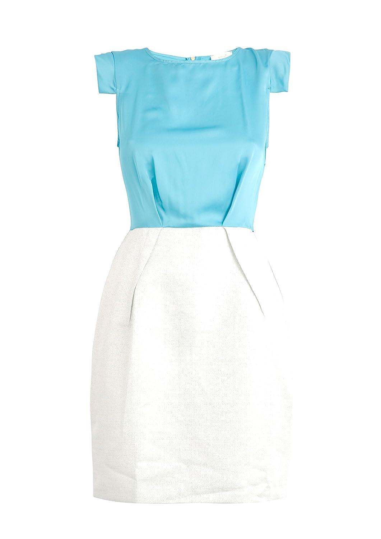 ALMARI Blue Tie Back Dress