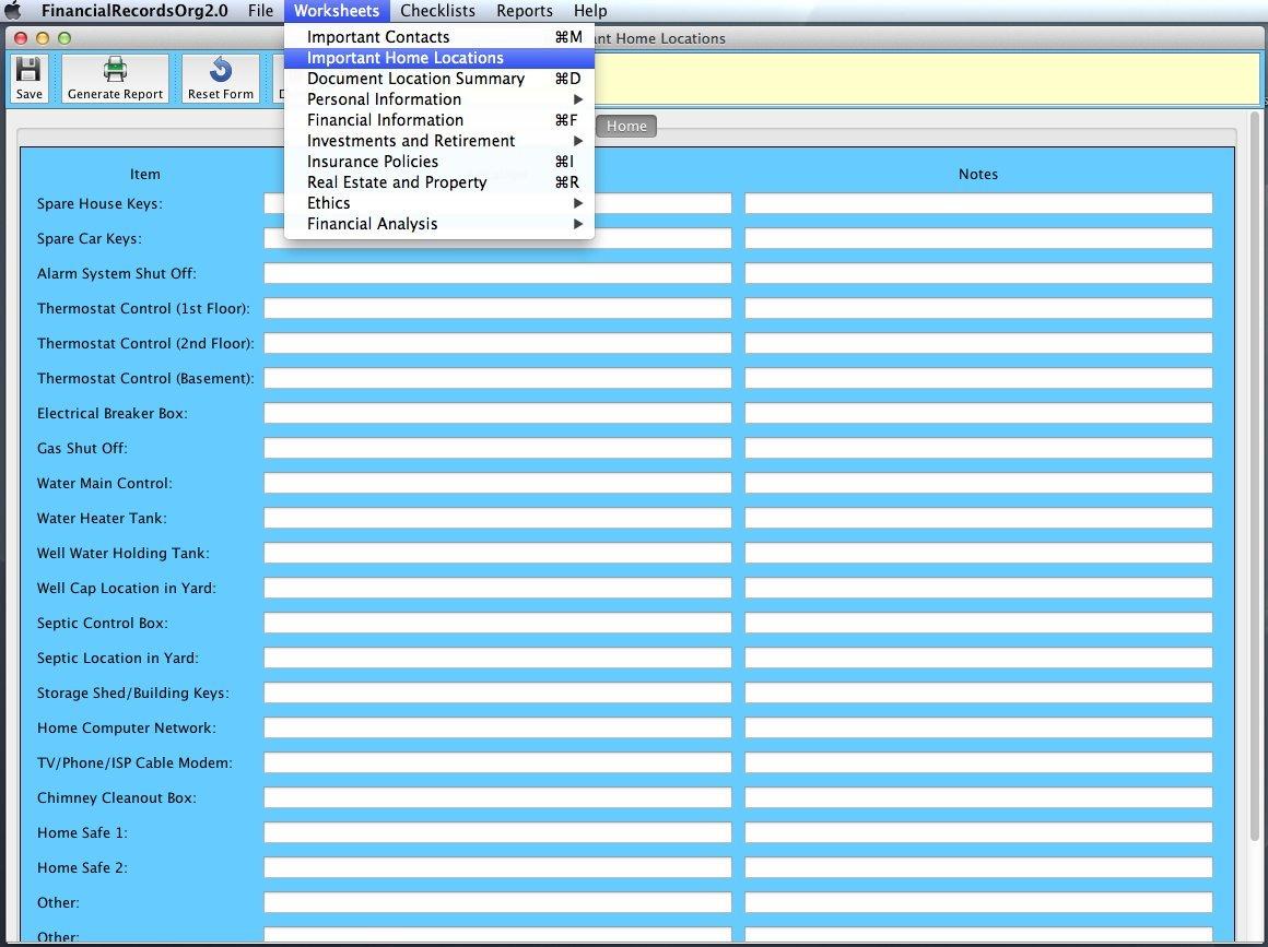 Amazon.com: Financial Records Organizer 2.0 Deluxe for Mac [Download ...