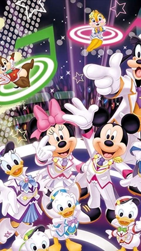 ディズニー 『声の王子様』ミッキーとミニー と仲間たち XFVGA(480×854)壁紙画像