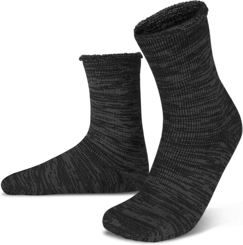 Anti-Korallen-Socken rutschfeste Wintersocken Farbe: Schwarz, Gr/ö/ße: S warme Socken Haxibkena Tauchsocken wasserdichte Mutter-Schnorchelsocken