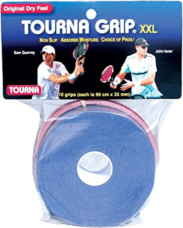 Amazon.com: Tourna Grip XXL, manijas para raqueta de tenis ...