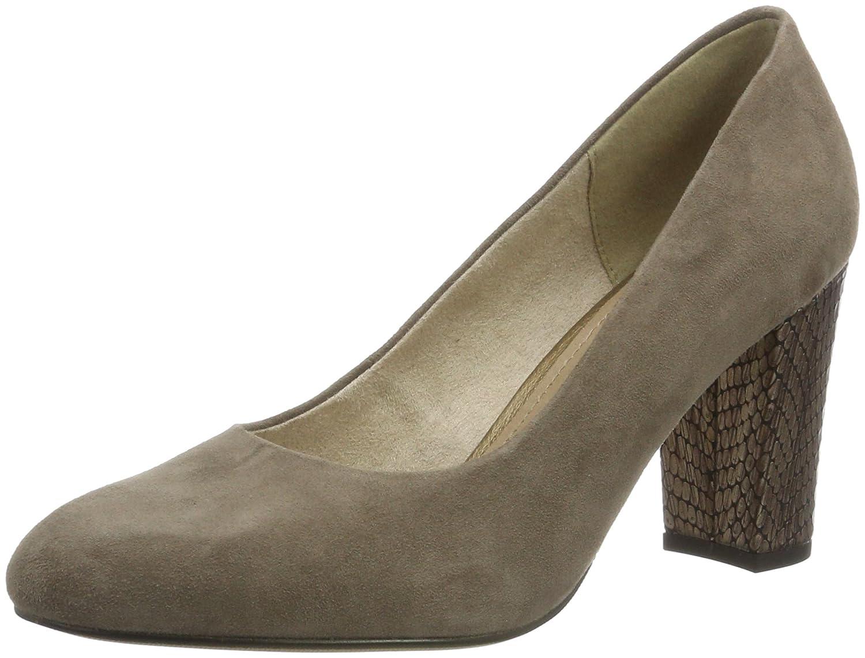 s.Oliver 22403, Zapatos de Tacón para Mujer 37 EU|Marrón (Pepper 324)