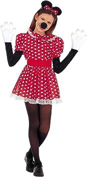 WIDMANN Sancto Disfraz de ratón para mujer, talla 5-7 años (36716)
