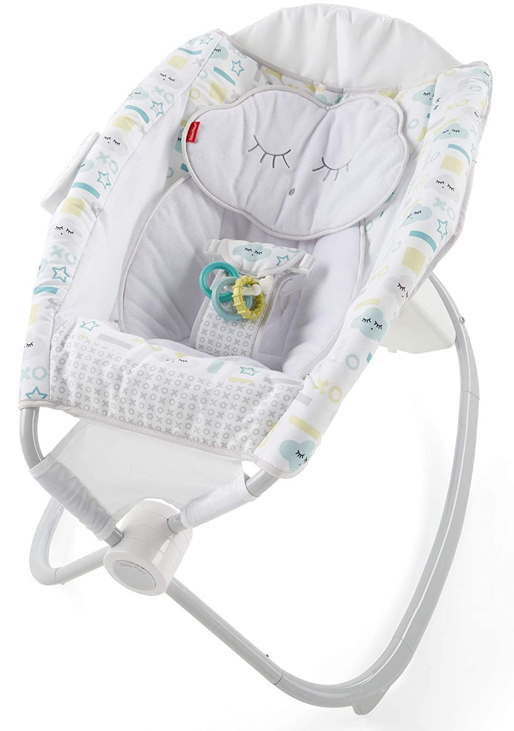 Fisher-Price Deluxe Auto Rock 'n Play Sleeper with Smart Connect Fisher-Price Baby FMC41