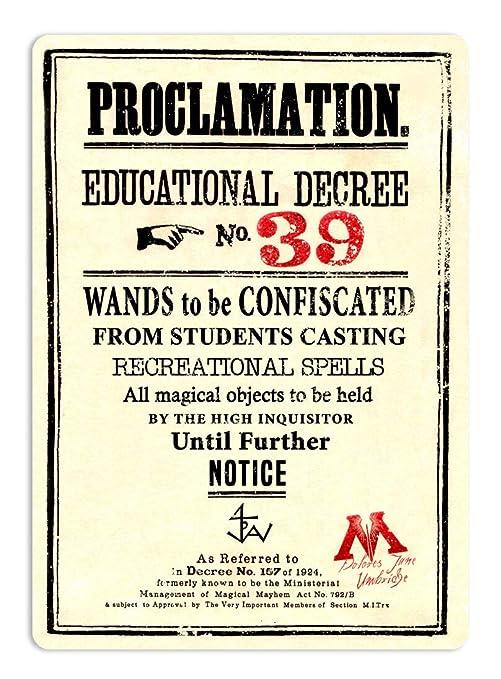BORJOR Proclamation Educational Decree NO.39 -Cartel de ...