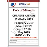 [Pack of 6 Months Booklets] Vision IAS Current Affairs January 2019 to June 2019 [English]