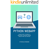 Python WebApp: Learn how to serve a Machine Learning Model predicting car prices (Full stack Book 1)