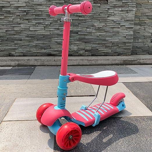 Patinete Scooter para niños 2 3 4 5 años niños Altura ...