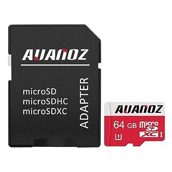 Auanoz Micro Sd Karte 64 Gb Micro Sdxc Klasse 10 Uhs I Amazonde