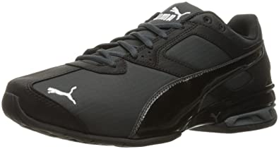 PUMA Men's Tazon 6 Ripstop FM Cross-Trainer Shoe, Dark Shadow Black, 7
