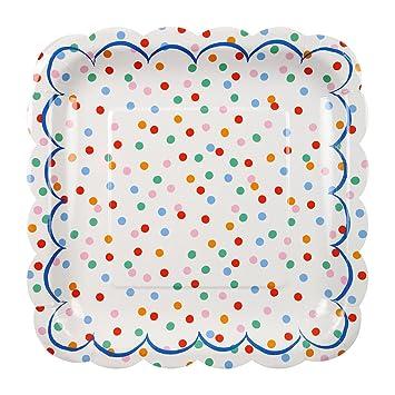 Meri Meri Party Plates Toot Sweet Spotty - Large  sc 1 st  Amazon.com & Amazon.com: Meri Meri Party Plates Toot Sweet Spotty - Large: Toys ...