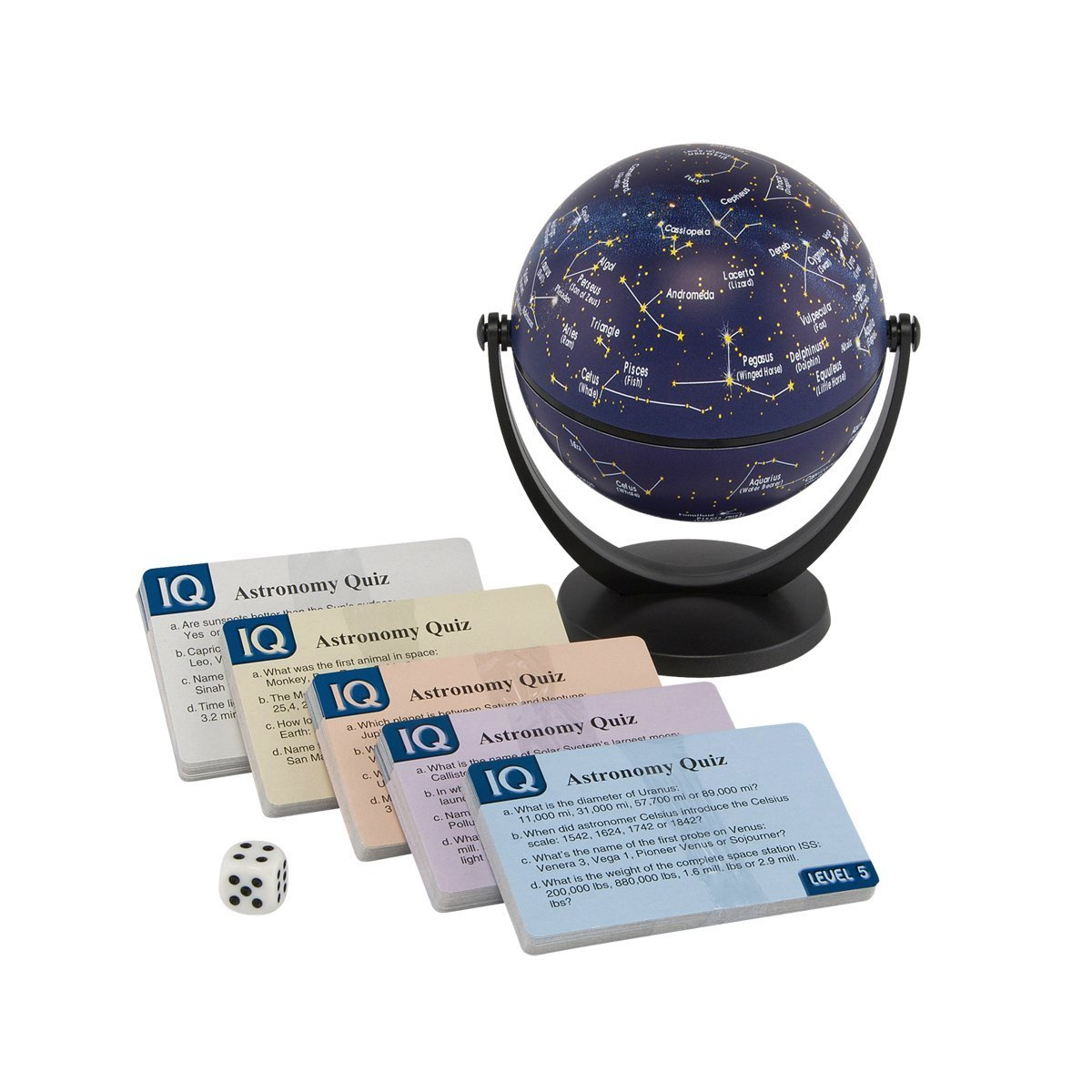 Stellanova IQ Stars and Constellations Quiz Globe Game