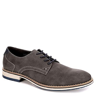 VARESE Mens Dillan Lace Up Oxford Shoes   Oxfords