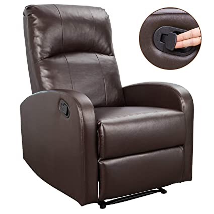 Amazon Com Homall Phlbn Recliner Chair Sofa Home Theater Seating Pu