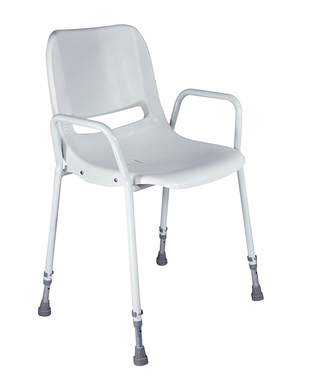 Aidapt Milton Shower Chair with Adjustable Height (Eligible for VAT ...