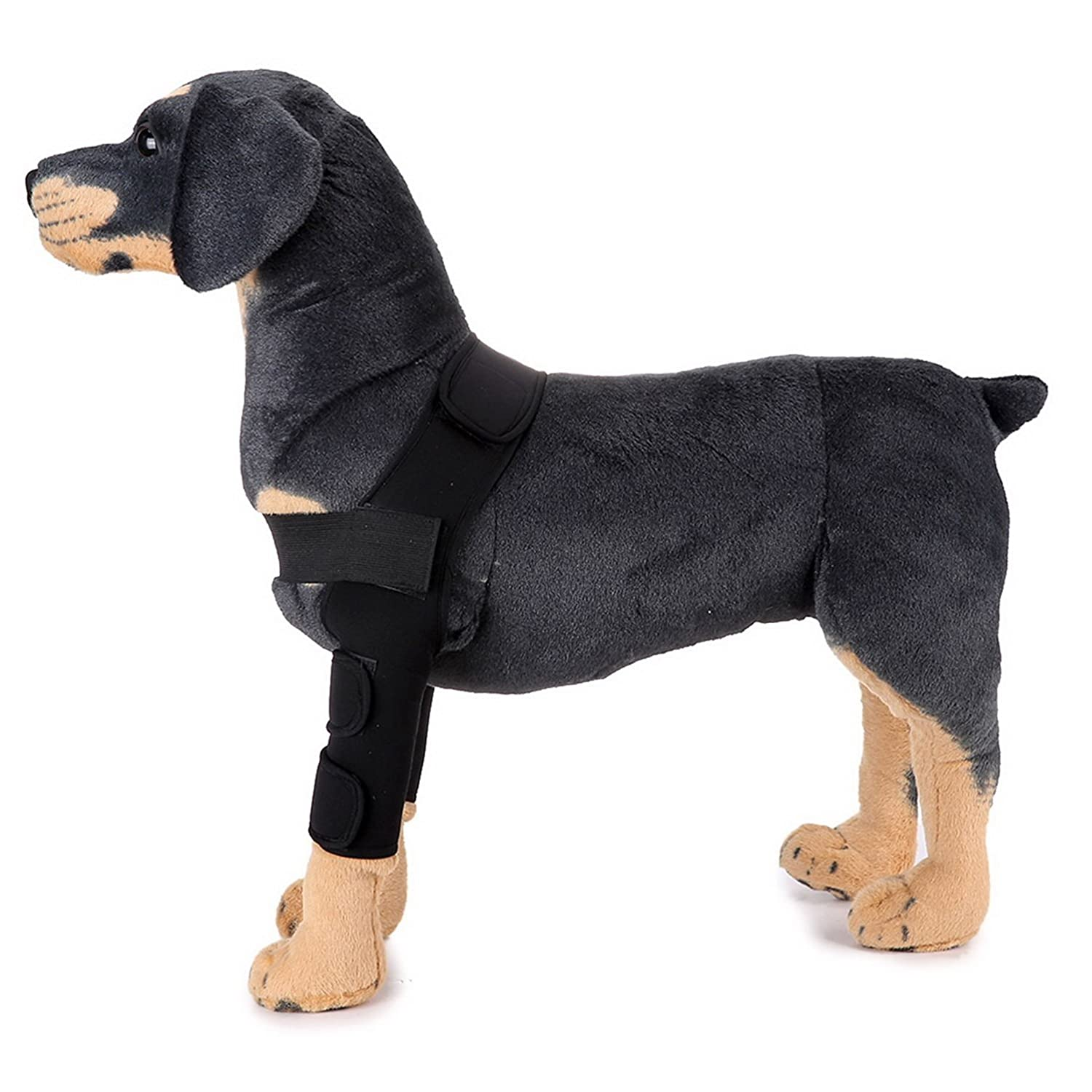 SELMAI Dog Front Leg Brace Support Canine Paw Compression Wrap Shoulder  Protects Wounds Brace Extra Supportive Hock Joint for Heals Prevents  Injuries