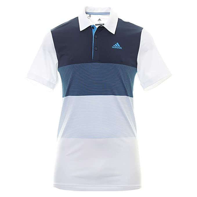 adidas Ultimate Color Block Polo para Hombre: Amazon.es: Ropa y ...