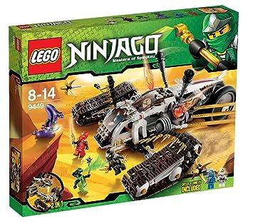 lego ninjago playthme 9449 jeu de construction le tout terrain ultrasonique