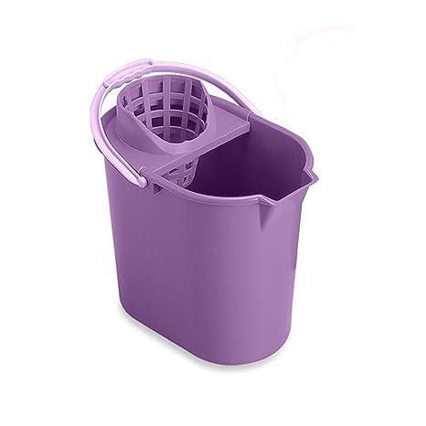 Mery 0312.09 - Cubo de fregar y escurridor, 12 l, color lila