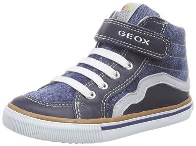 0b1c7320b6d57b Geox - B Kiwi Boy - Chaussures Marche Bébé - Garçon - Bleu (C4381 ...