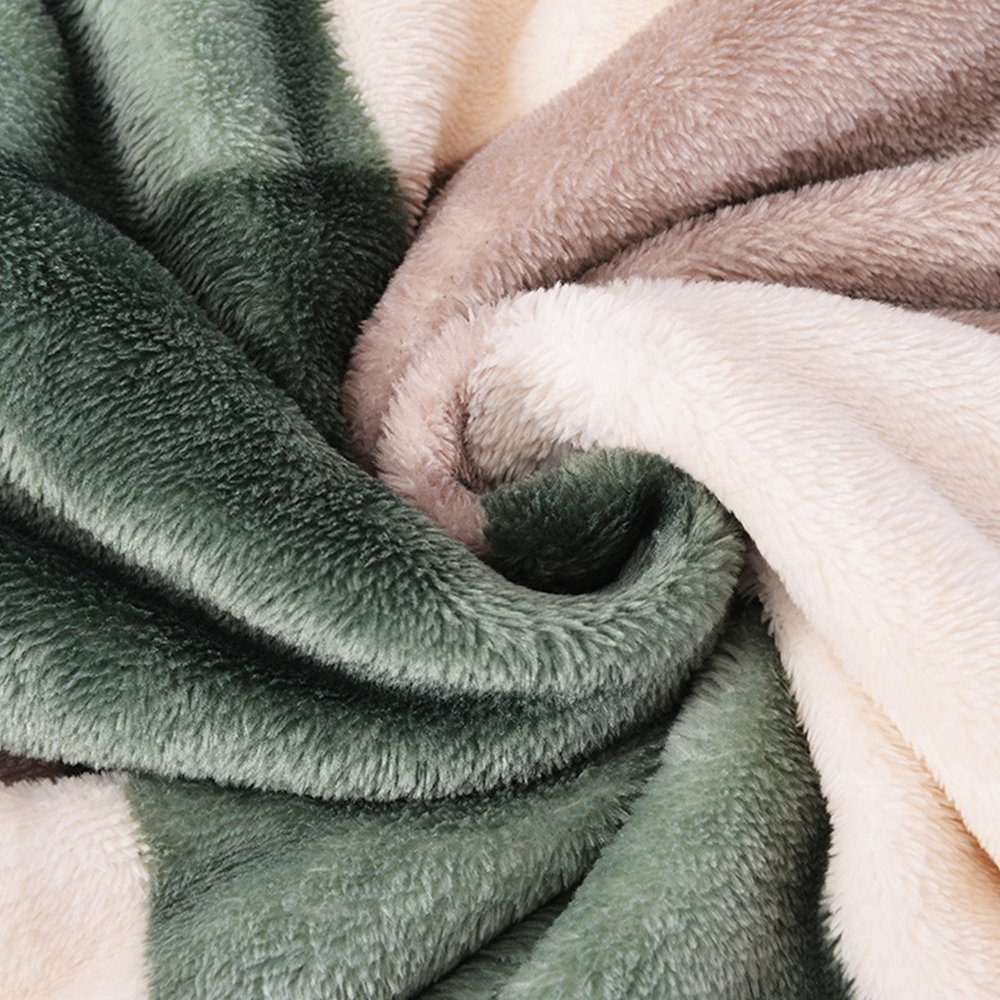 MYLUNE HOME Classic Polyester Blanket Throws Quilt for Bedroom Living Rooms Sofa Full/Queen/King Size