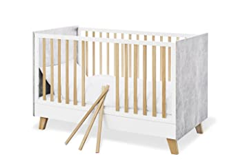 Pinolino 113418 Kinderbett Apollo Weiss Amazon De Baby