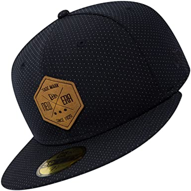 f692c173292 New Era 59fifty Basecap - Hex Patch - Navy  Amazon.co.uk  Clothing