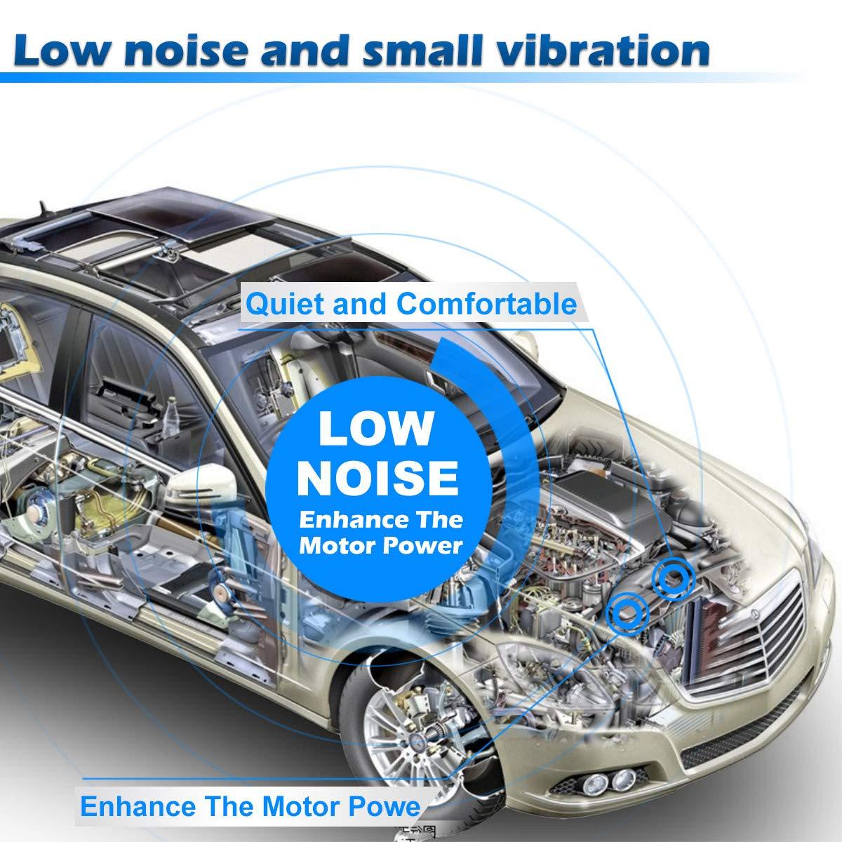 AC Compressor and A//C Clutch AUTEX CO 10663AC 38810PNB006 638951 7511495 20-11242 Compressor Replacement for 2002 2003 2004 2005 2006 Honda CR-V 2.4L