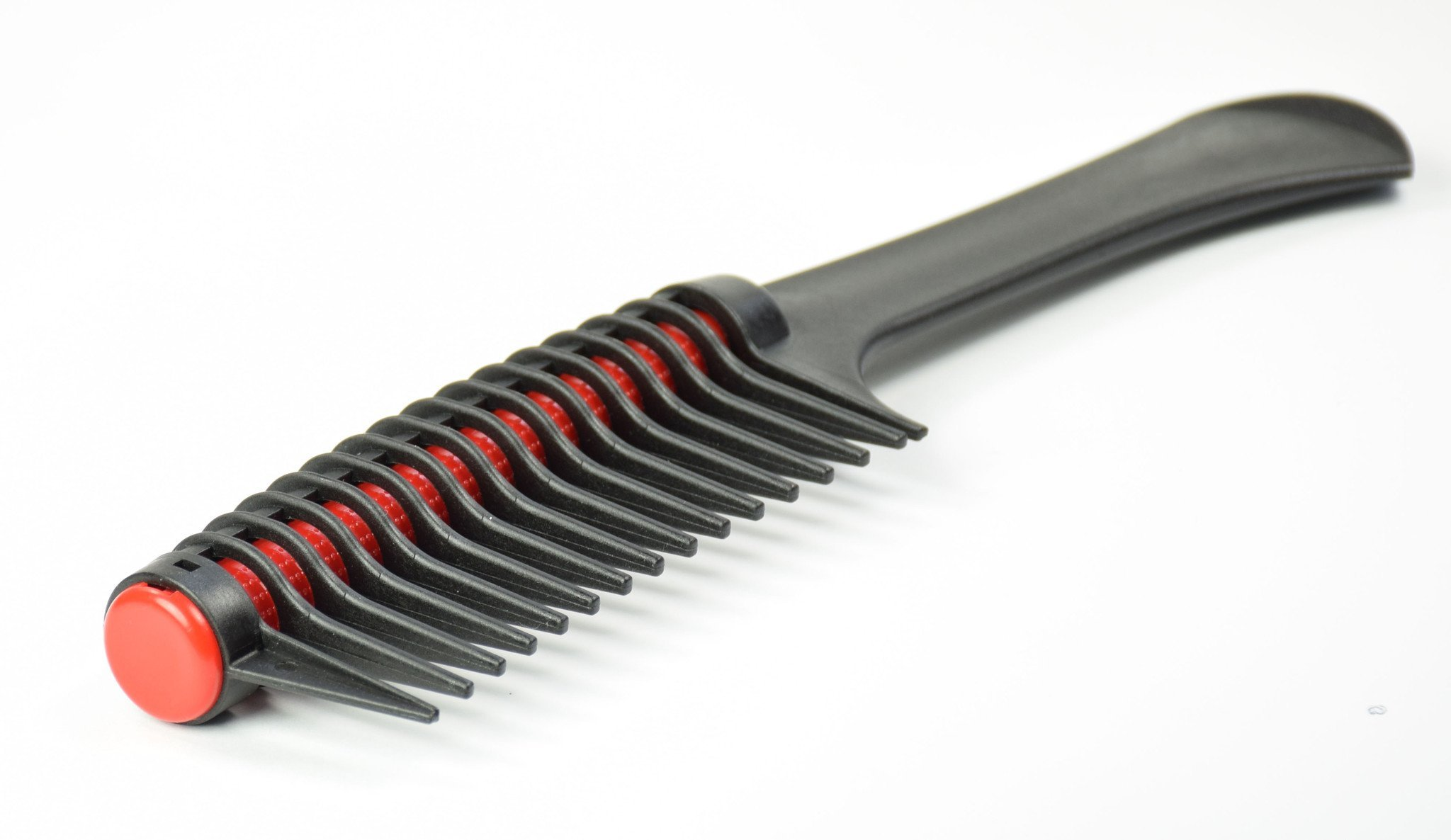 "Professional Anti Splicing & Detangling Roller Comb, Hair Comb, Integrated Roller 9"" by Imrue Beauty"